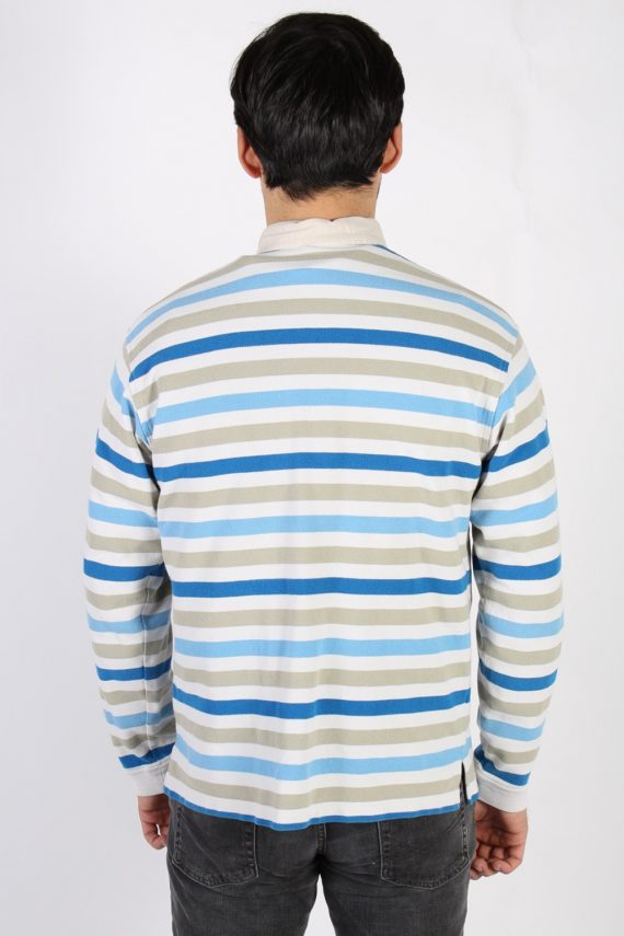 Vintage Lacoste Polo Neck Sweater L Multi -IL1186-71109