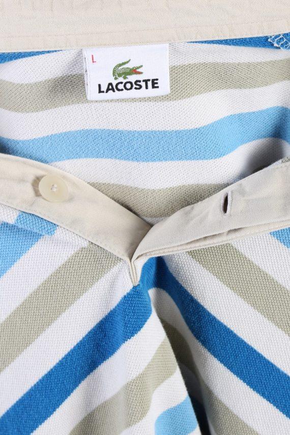 Vintage Lacoste Polo Neck Sweater L Multi -IL1186-71110