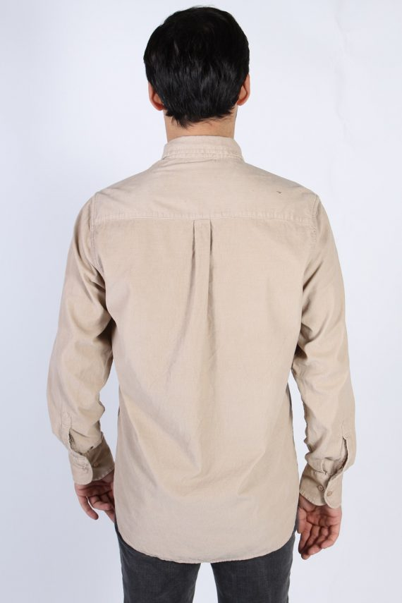 Vintage Ronley Soft Corduroy Shirt - M Beige - SH3130-71149