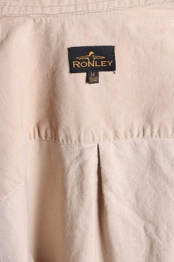 Vintage Ronley Soft Corduroy Shirt - M Beige - SH3130-71150