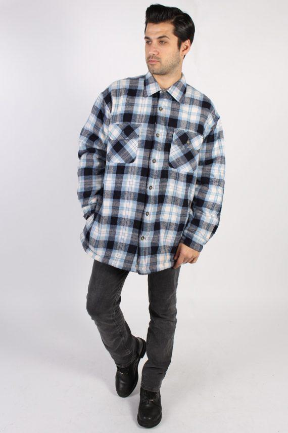 Vintage St. John's Bay Polar Flannel Shirt - XL Multi - SH3147-71232
