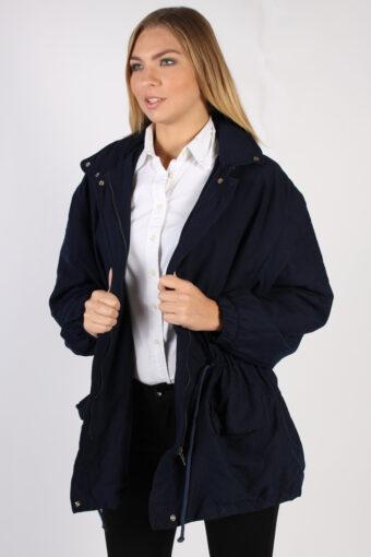 Vintage Lacoste Devanlay Casual Coat  Bust 48 Navy