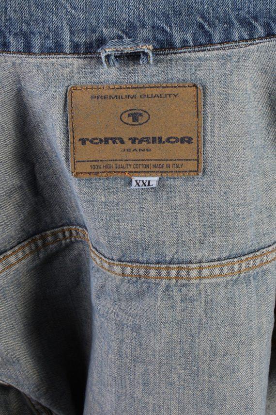 Vintage Tom Tailor Trucker Denim Jacket XXL Navy -DJ1417-72789