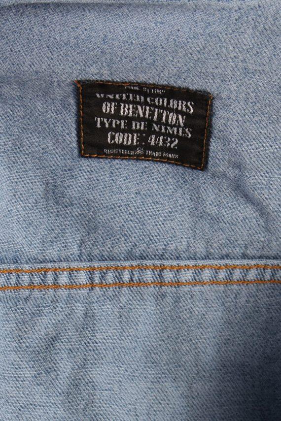 Vintage Replay Trucker Denim Jacket L Navy -DJ1420-72804