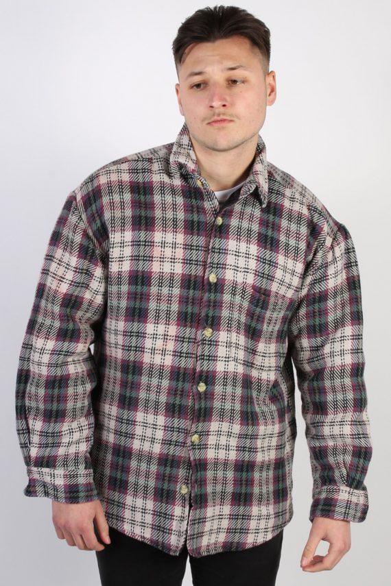 Vintage HK Polar Tartan Lumberjack Shirt - L Multi SH3231-0