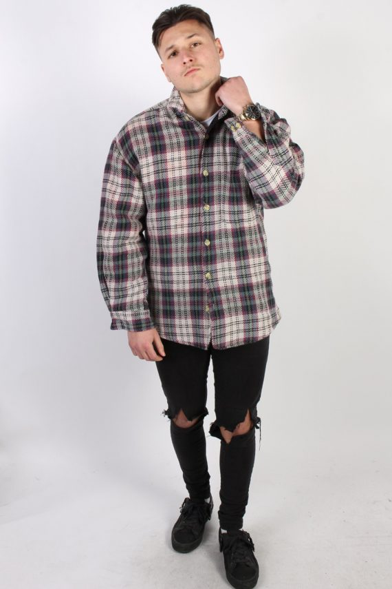 Vintage HK Polar Tartan Lumberjack Shirt - L Multi SH3231-74147
