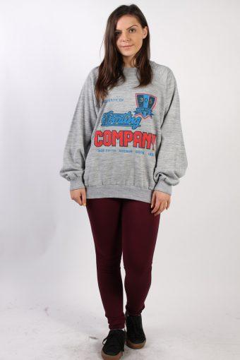 Vintage Mory's New York Round Neck Sweatshirt XL Grey -SW1719-72816
