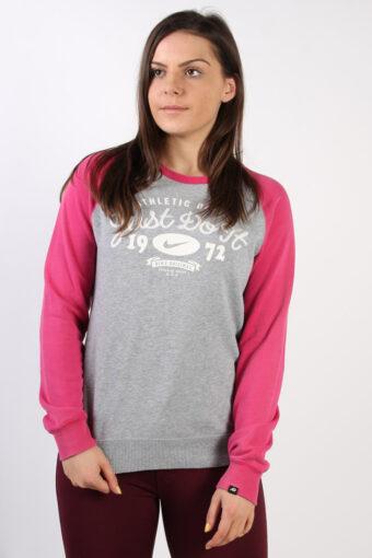 Crew Neck Nike Sweatshirt 90s Retro M