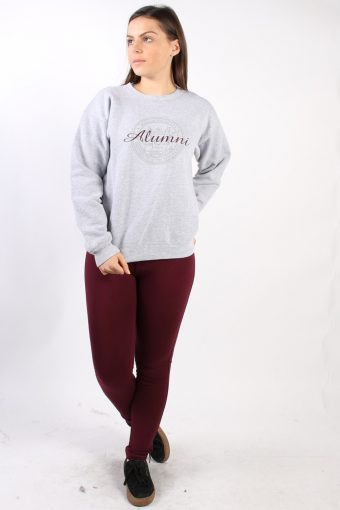 Vintage Champion Alumni Sweatshirt S Grey -SW1730-72871