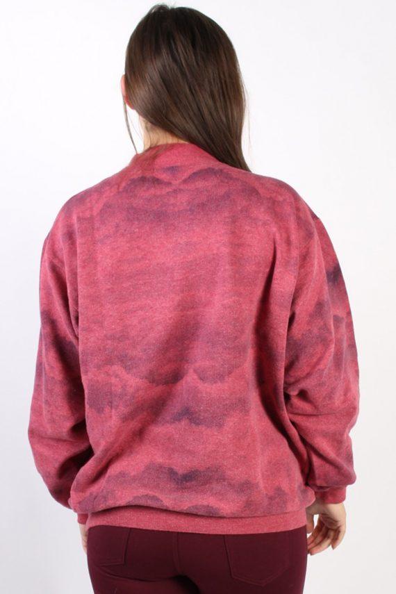 Vintage Other Brands Detroit Baseball Sweatshirt XL Pink -SW1757-73008