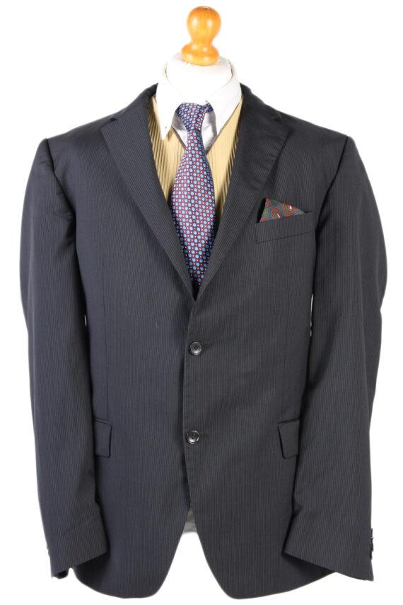 Vintage Tommy Hilfiger Striped Blazer Jacket - Chest 47 Navy BR793-0