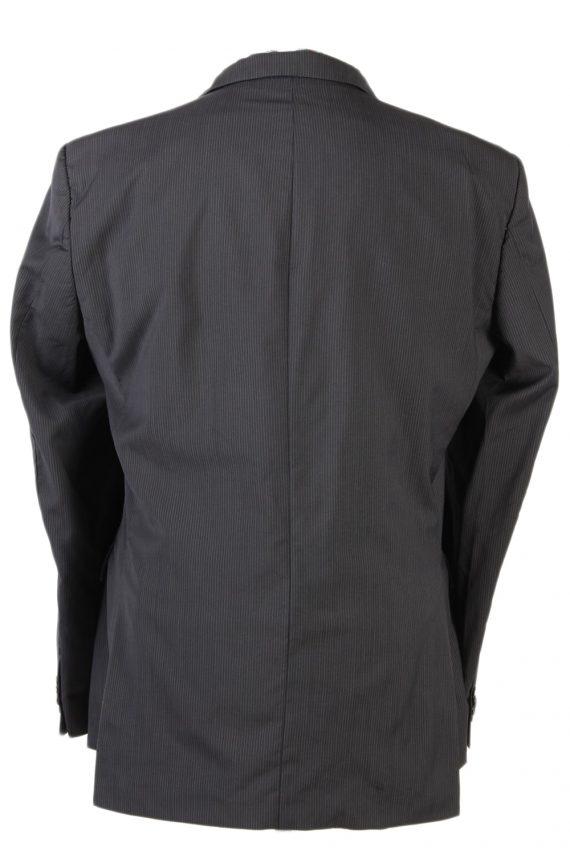 Vintage Tommy Hilfiger Striped Blazer Jacket - Chest 47 Navy BR793-74633