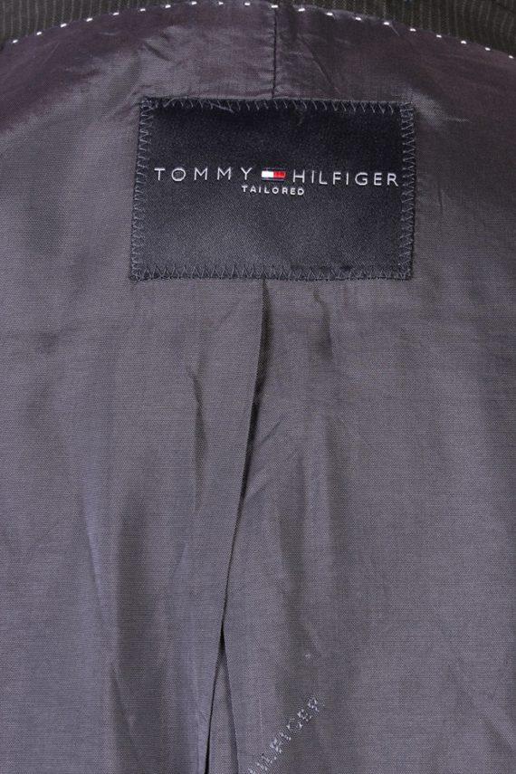 Vintage Tommy Hilfiger Striped Blazer Jacket - Chest 47 Navy BR793-74634