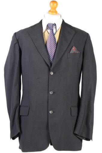 Burberry Plain Blazer Jacket Grey L