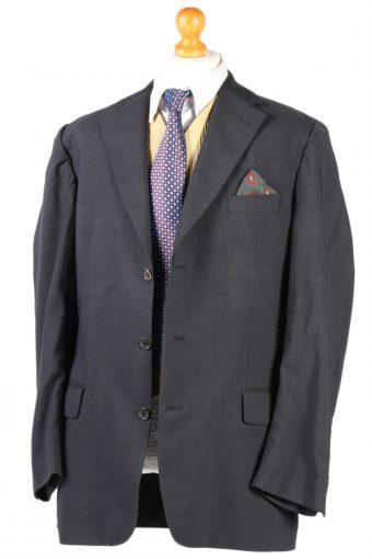 Vintage Burberry's Plain Blazer Jacket - Chest 45 Grey BR798-74652