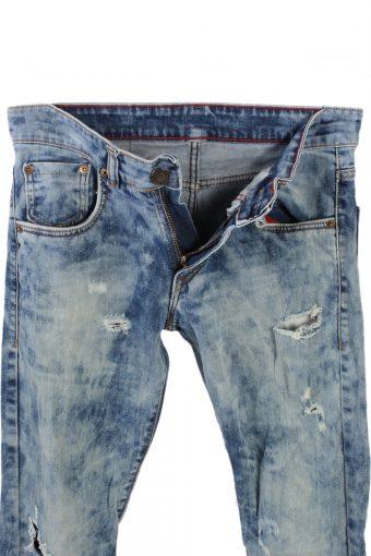 Vintage Levis 504 Ripped Watercolour W Jeans Waist:30 Multi J2874-75820