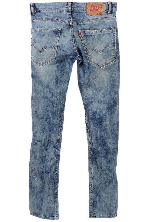 Vintage Levis 504 Ripped Watercolour W Jeans Waist:30 Multi J2874-75821