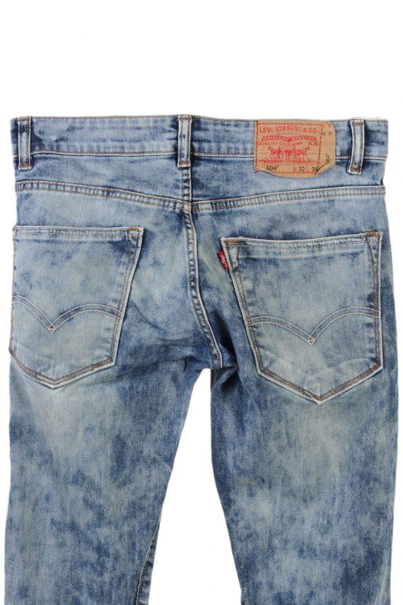 Vintage Levis 504 Ripped Watercolour W Jeans Waist:30 Multi J2874-75822