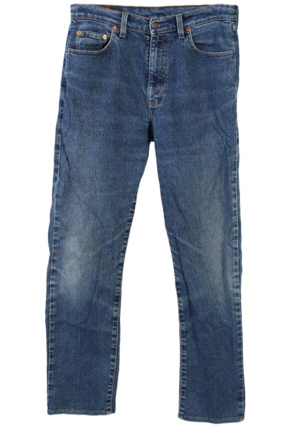 Vintage Levi's 605 74 Jeans Waist:31 Navy J2904-0