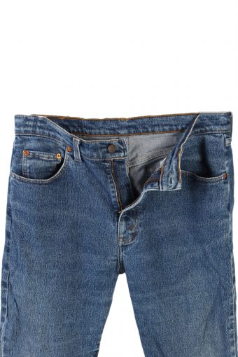 Vintage Levi's 605 74 Jeans Waist:31 Navy J2904-75995