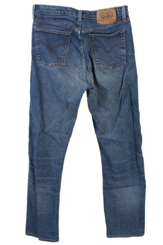 Vintage Levi's 605 74 Jeans Waist:31 Navy J2904-75996