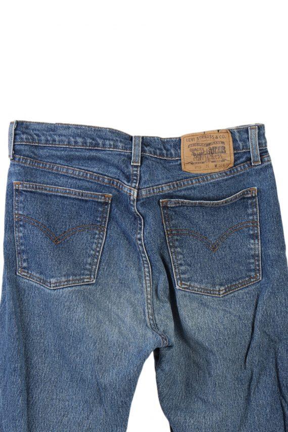 Vintage Levi's 605 74 Jeans Waist:31 Navy J2904-75997