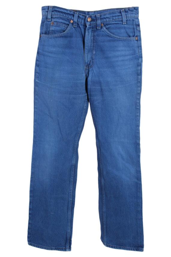 Vintage Levi's Orange Tag Coloured Jeans Waist:31 Blue J2905-0