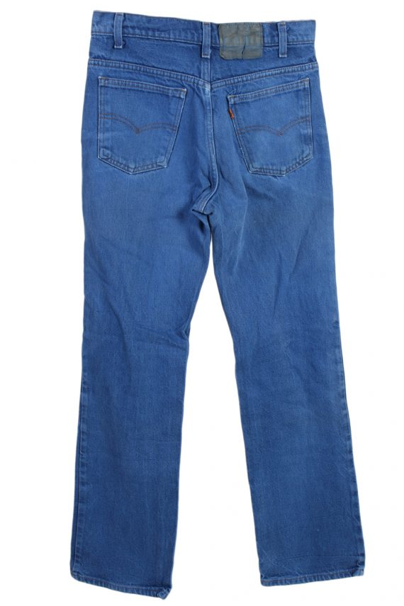 Vintage Levi's Orange Tag Coloured Jeans Waist:31 Blue J2905-76000