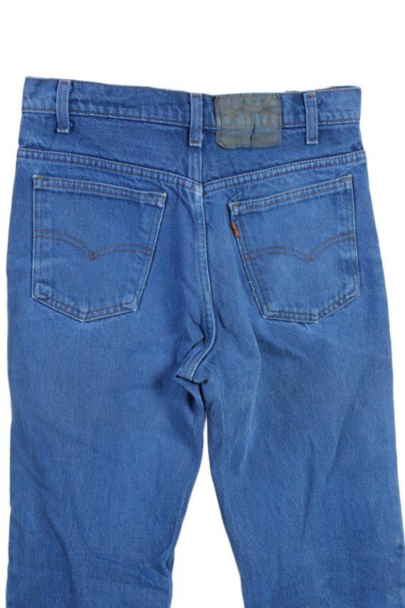 Vintage Levi's Orange Tag Coloured Jeans Waist:31 Blue J2905-76001