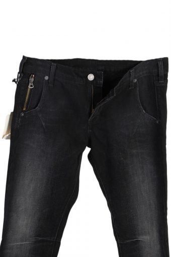 Vintage Levi's Boyfriend Skinny Faded Fit Jeans With Tag Waist:30 Black J2933-76107
