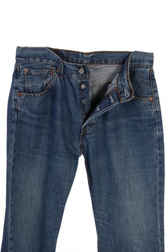 Vintage Levi's 590 04 Womens Jeans Button Fly Waist:29 Blue J3009-76472
