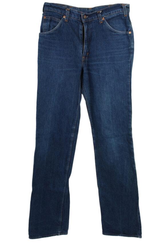 Vintage Levi's 630-0217 Mom Jeans Waist:32 Navy J3039-0