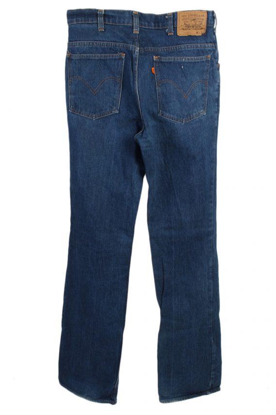 Vintage Levi's 630-0217 Mom Jeans Waist:32 Navy J3039-76589