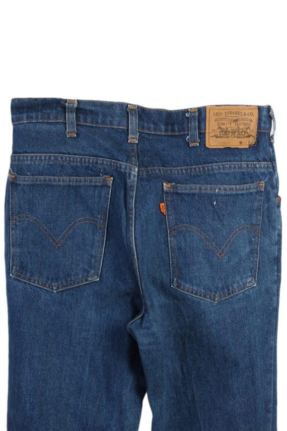 Vintage Levi's 630-0217 Mom Jeans Waist:32 Navy J3039-76590