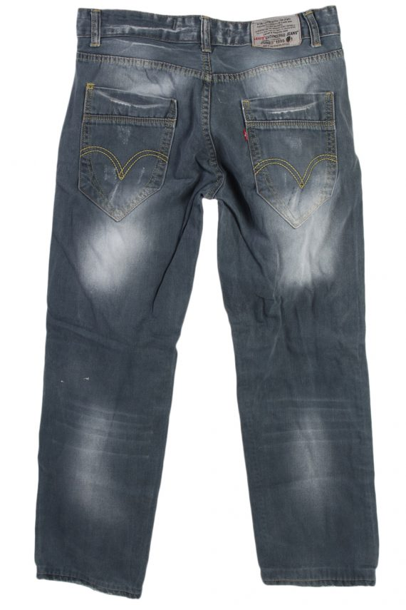 Vintage Levi's Engineered Special Dated 9th JUNE 1999 Jeans Waist:32 Grey J2949-76170