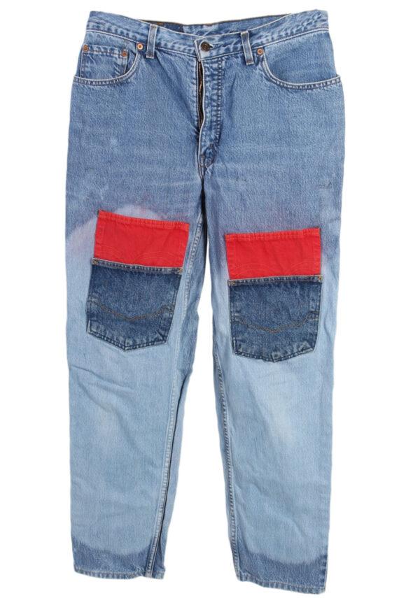 Vintage Levi's Special Lot Designer Jeans Orange Label High Waist:32 Blue J2962-0