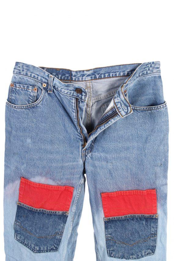 Vintage Levi's Special Lot Designer Jeans Orange Label High Waist:32 Blue J2962-76224