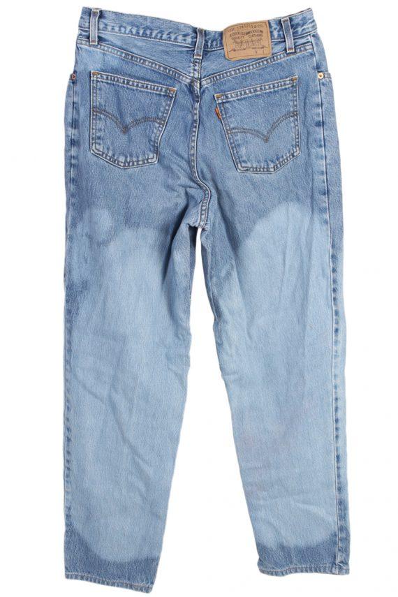 Vintage Levi's Special Lot Designer Jeans Orange Label High Waist:32 Blue J2962-76222