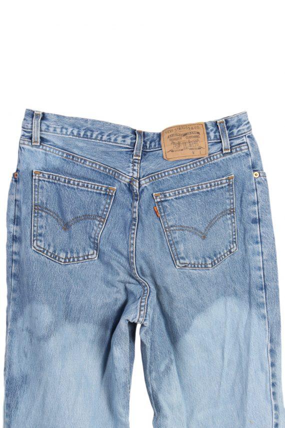 Vintage Levi's Special Lot Designer Jeans Orange Label High Waist:32 Blue J2962-76223