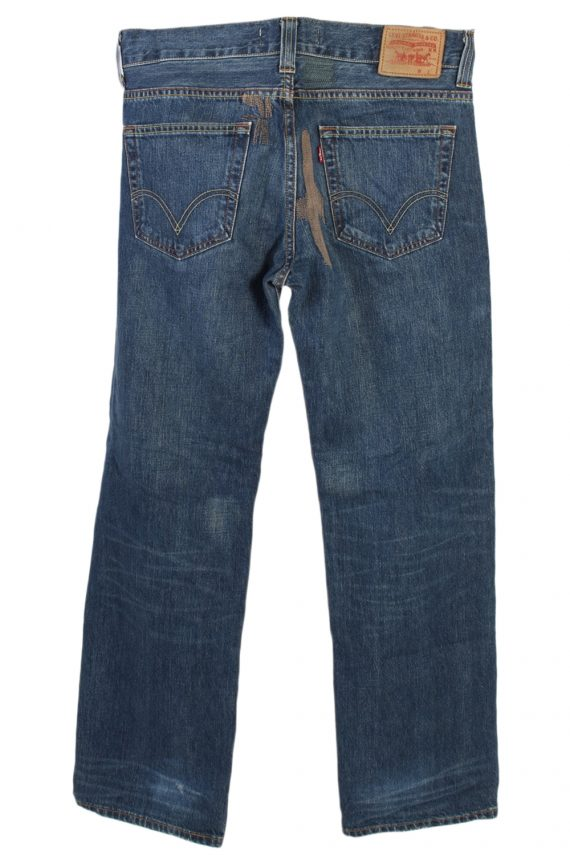 Vintage Levi's Stitch Designer 509 Comfort Jeans Waist:37 Navy J2968-76246