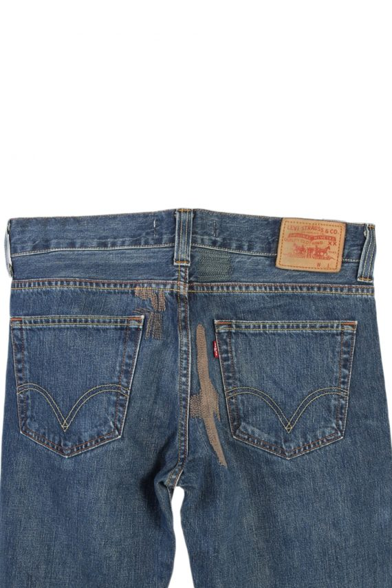 Vintage Levi's Stitch Designer 509 Comfort Jeans Waist:37 Navy J2968-76248