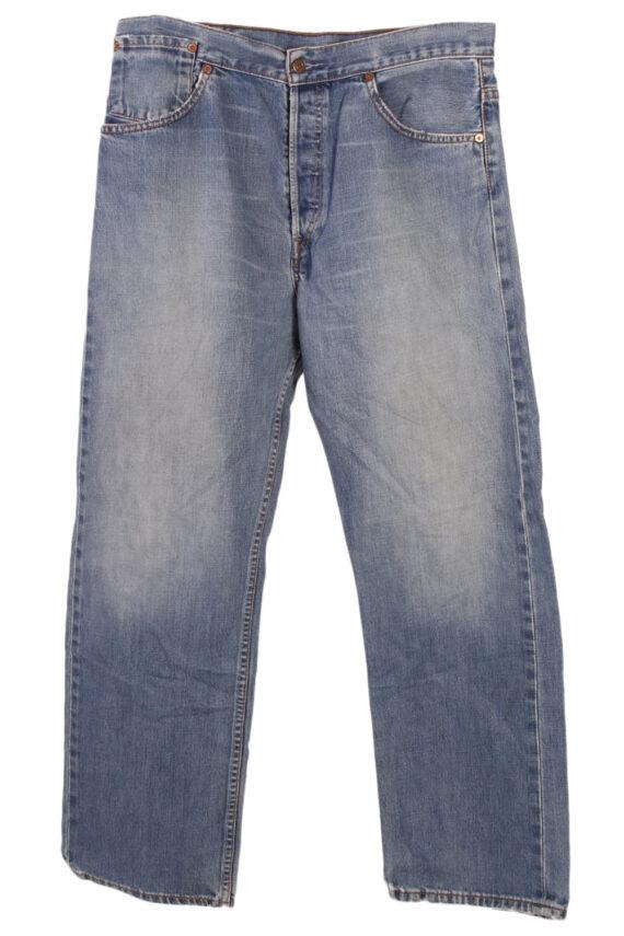 Vintage Levi's Classic Button Fly Jeans Waist:34 Blue J2969-0