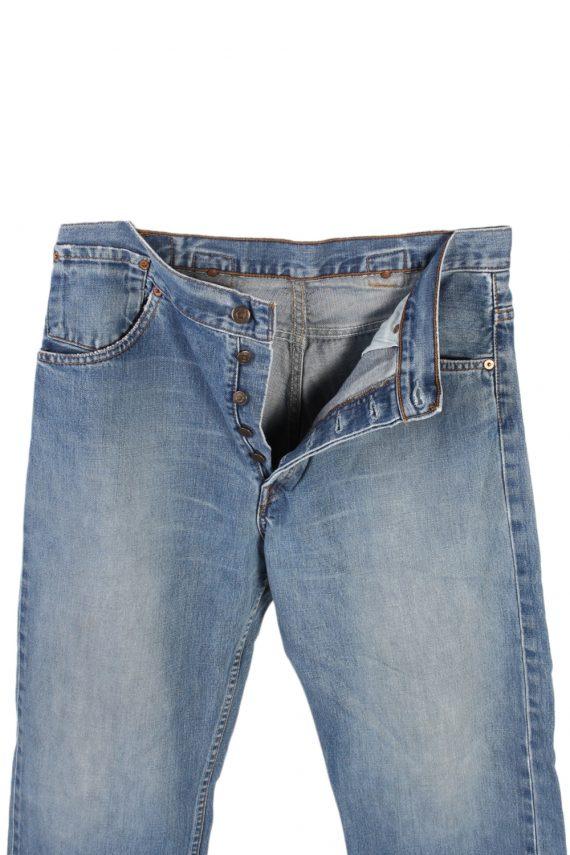 Vintage Levi's Classic Button Fly Jeans Waist:34 Blue J2969-76253