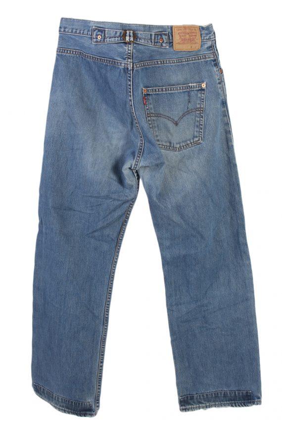 Vintage Levi's Classic Button Fly Jeans Waist:34 Blue J2969-76250