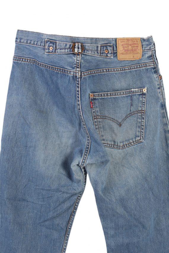 Vintage Levi's Classic Button Fly Jeans Waist:34 Blue J2969-76252