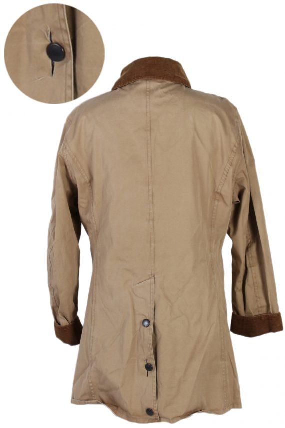 Vintage Barbour Waterproof Jacket Coat Bust 43 Beige -C1174-79328