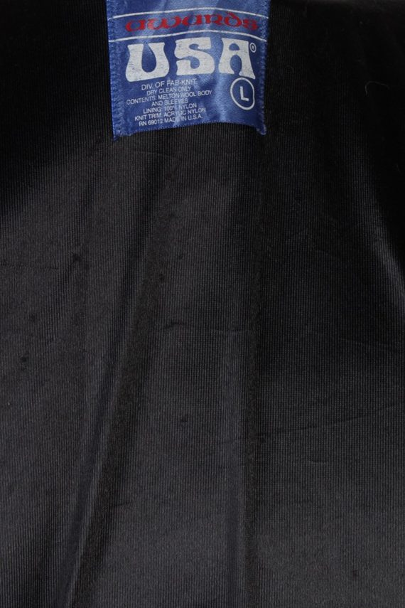 Vintage Awards USA Custom Made Jessica Bomber Jacket Bust 46 Red -C1213-78261