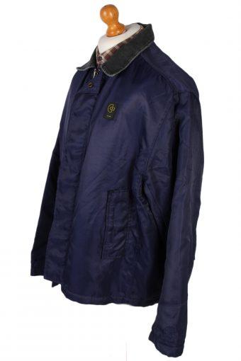Vintage GStar Raw Zordo Cord Neck Jacket Coat Chest 53 Navy -C1239-78564