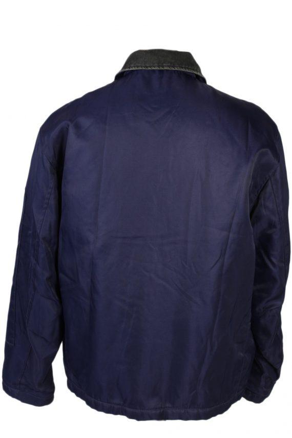 Vintage GStar Raw Zordo Cord Neck Jacket Coat Chest 53 Navy -C1239-78565
