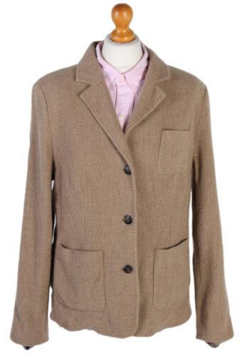 Escada Smart Cashmere Jacket Beige L